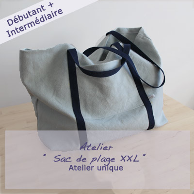 sac de plage -Made by Emy